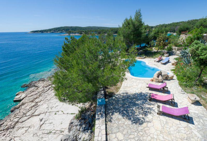 Beach View Villa Brac Island Luxury